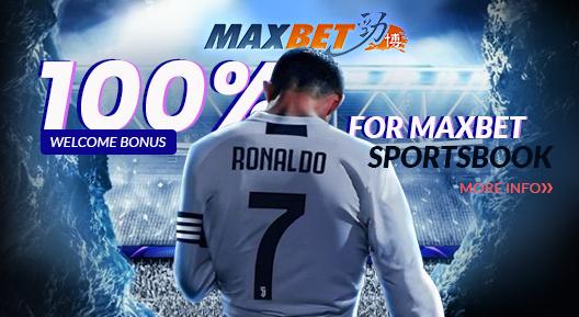 Maxbet 100% Welcome Bonus