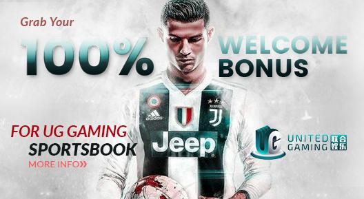 UG 100% welcome bonus