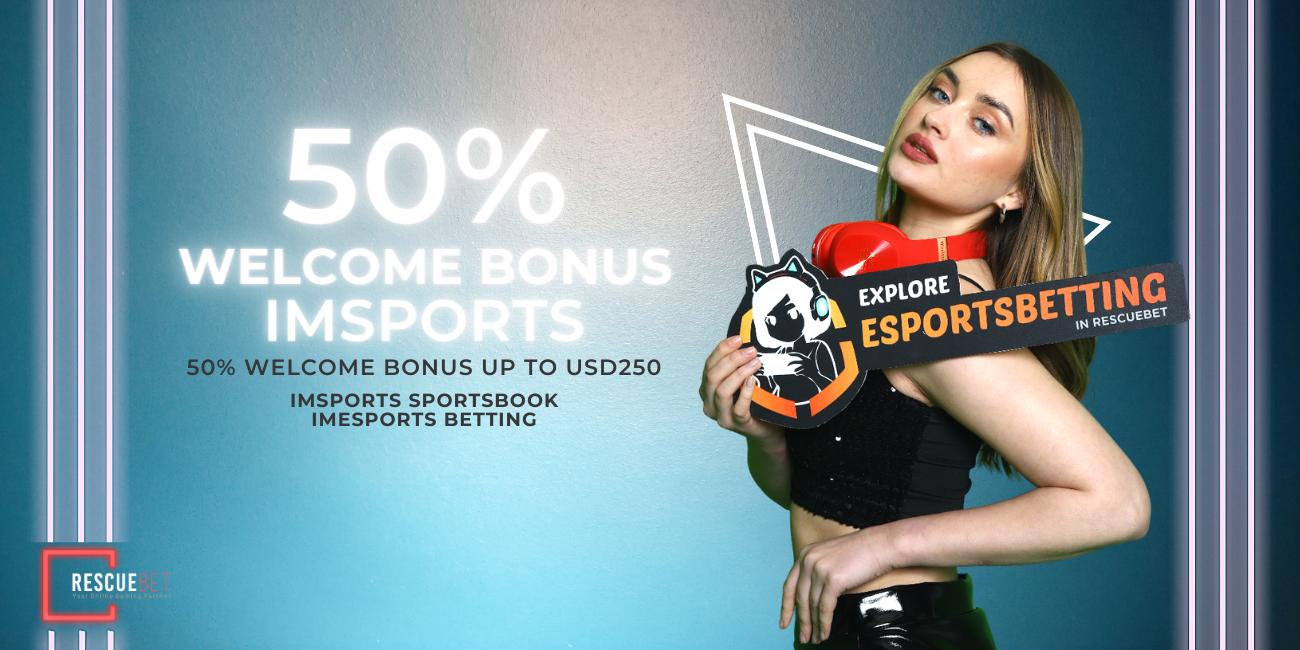 IMsports 50% Welcome Bonus