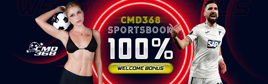 CMD368 100% Welcome Bonus