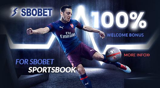SBObet 100% Welcome Bonus
