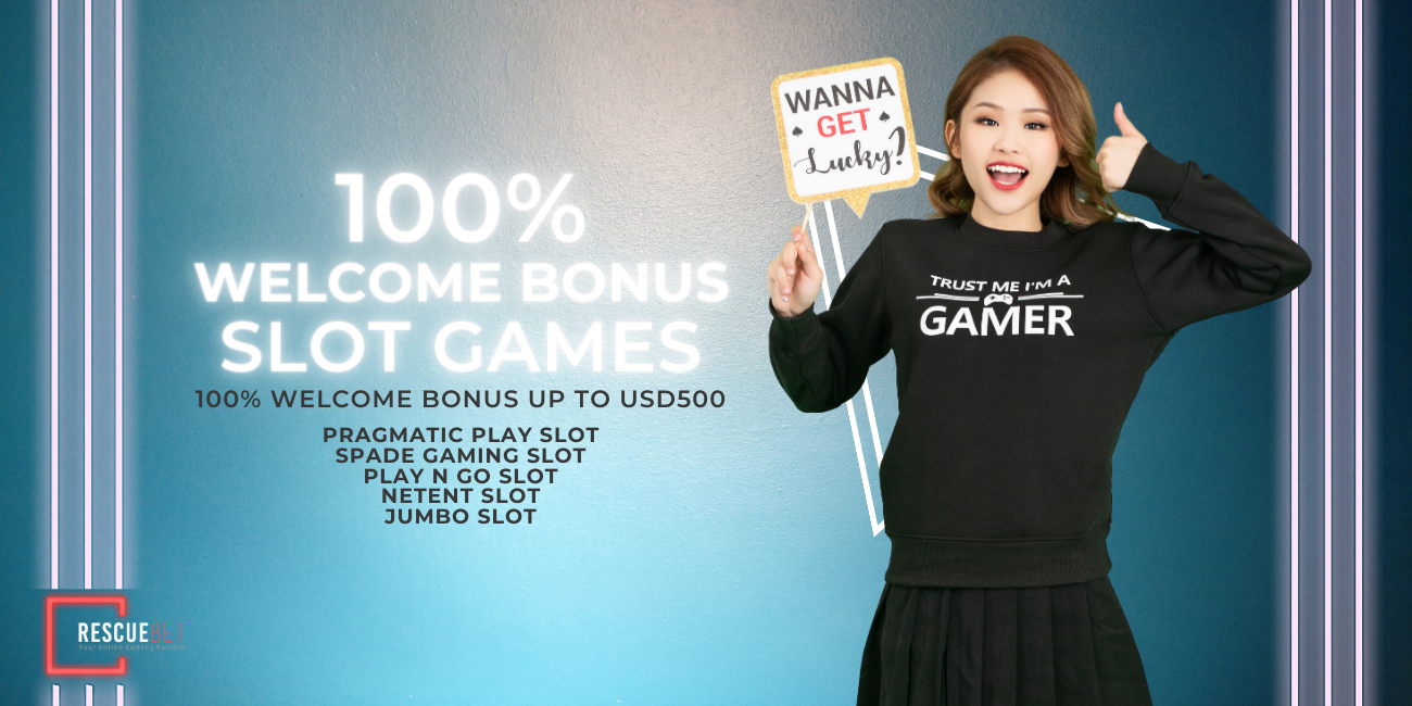 Slot Games 100% Welcome Bonus