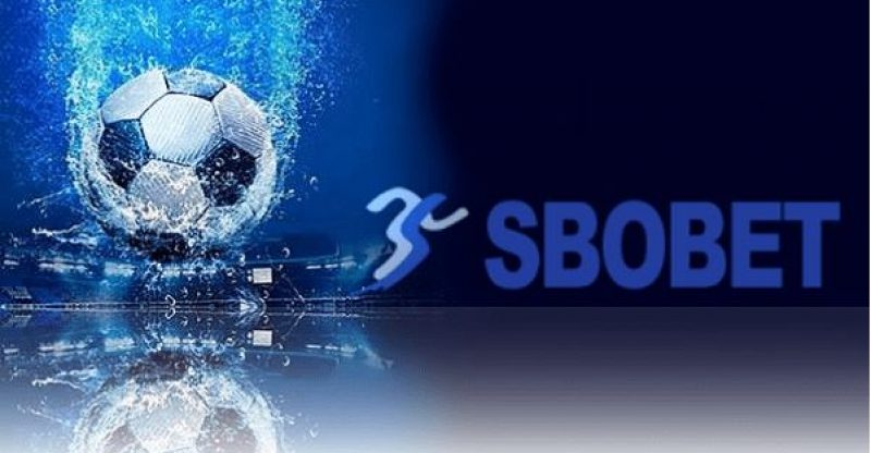 Sbobet Logo In Dark Blue Background