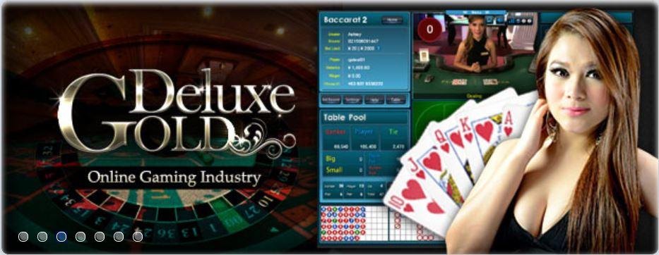 Gold Deluxe Casino Model 3
